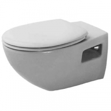 Duravit - Duraplus Colomba Wall Mounted Pan 360 x 575mm White Alpin