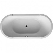 Duravit - Starck Freestanding Bath 1800 x 800mm White