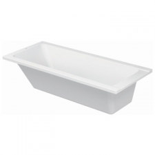 Duravit - D-Code Rectangle Built-In Bath 1700 x 750mm White