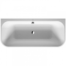Duravit - Happy D2 Back To Wall Bathtub 1800 x 800mm White