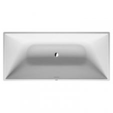Duravit - DuraSquare Rectangle Freestanding Bath 1850x850x610mm White Alpin