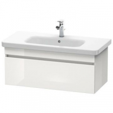 Duravit - Durastyle Vanity Unit Wall Mounted 930 x 448mm 1 Drawer White High Gloss