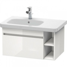 Duravit - Durastyle Vanity Unit Wall Mounted 730 x 448mm 1 Drawer White High Gloss