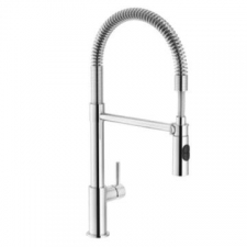 Flexus Professional Sink Mixer with Retractable Hose Spout - Franke