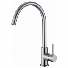 Satur Arc Sink Mixer 373x223x50mm Stainless Steel - Franke