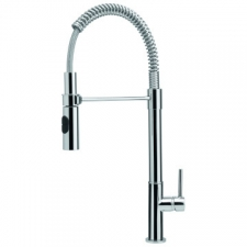 Flexus Professional Sink Mixer with Retractable Hose Spout with 2x Shut Off Valves - Franke