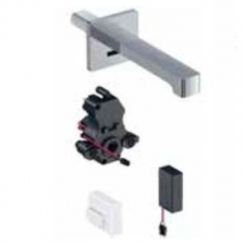 Geberit Basin Brenta Tap Wall-Mounted W/ Mixer Battery Operation B/Chrome - Geberit