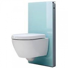 Monolith for Wall-Hung WC 101cm Mint Glass - Geberit