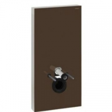 Monolith for Wall-Hung WC 101cm Umber Glass - Geberit