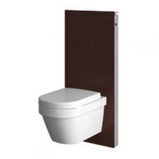 Monolith for W/H WC 114cm with Str Conn Umber Gls - Geberit