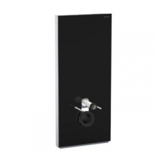 Monolith Plus for Wal-Hung WC 101cm Black Glass - Geberit