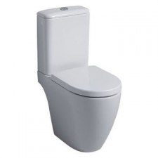 Geberit Icon Rimfree Floorstanding Pan for Close-Coupled Cistern White - Geberit