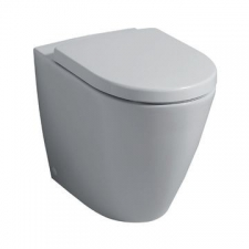 Geberit Icon Floorstanding Back-To-Wall Toilet Rimfree White - Geberit