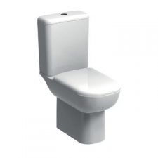 Geberit Smyle Rimfree Floorstanding Pan for Close-Coupled Cistern White - Geberit