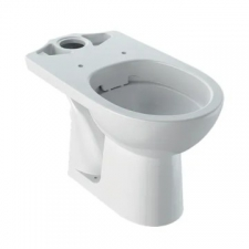 Selnova Rimfree Floorstanding Close-Coupled Pan with Horizontal Outlet White - Geberit