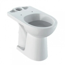 Selnova Floorstanding Raised Close-Coupled Pan White - Geberit