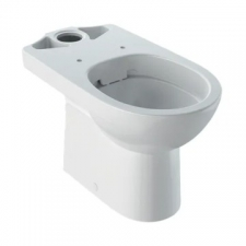 Selnova Rimfree Floorstanding Close-Coupled Pan Hidden Fastening White - Geberit