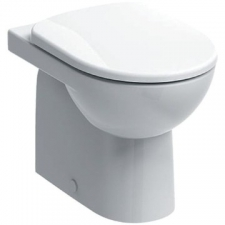 Selnova Floorstanding Back-To-Wall Pan White - Geberit