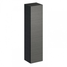 Xeno2 Tall W/Hung Cabinet w/ 1 Door & Internal Mirror 400x1700mm Scultura Grey - Geberit
