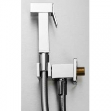 Gio Plumbing Square Forced Shut Off Trigger Spray Chrome - Gio