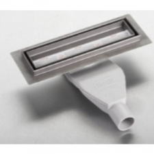 Jewel Shower Channel 250mm Chrome - Gio