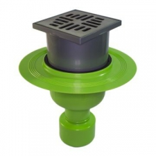 Hydrotec - Sarah-Lee Shower Trap Vertical Green
