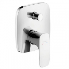 HG Puravida Bath Mixer Concealed FiniSH Set Chrome