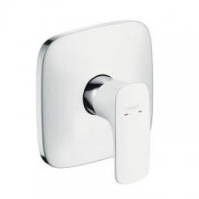 HG PuraVida Shower Mixer Concealed White/Chrome