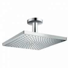 Raindance E 300 Air 1Jet Overhead Shower With Ceiling Connector 100mm Chrome