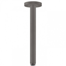 Hansgrohe - Universal / 27389340 / Brushed Black Chrome - Overhead Ceiling Shower Arm ( Connector ) - 15mm / 300mm Long