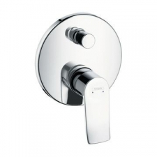 HG Metris Bath Mixer Concealed F.Set Chrome