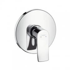 HG Metris Shower Mixer Concealed FS Highfl.Chrome