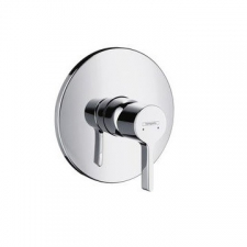 HG Metris S Shower Concealed F-Set Chrome