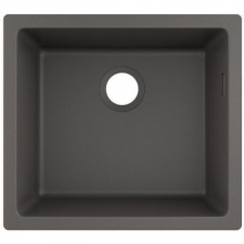 S510-U450 Under-Mount Sink 450 SG Granite 500 x 450mm Stonegrey