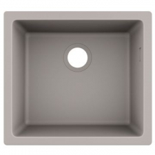 S510-U450 Under-Mount Sink 450 BG Granite 500 x 450mm Concrete Grey