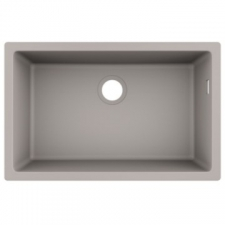 S510-U660 Under-Mount Sink 660 SG Granite 710 x 450mm Concrete Grey