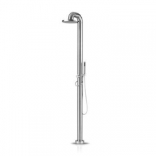 Jee-O - Freestanding shower mixer with rain shower head.