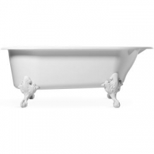 Cleo Freestanding Cast Iron Bathtub 1750 x 800 x 640mm White