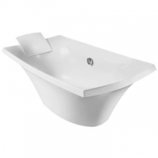 Escale Freestanding Acrylic Bathtub 1775 x 870 x 640mm White