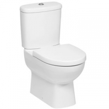 Panache Two-Piece Toilet With Quiet-Close Seat Cover 358 x 650 x 775mm White
