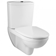Odeon Wall-Hung Toilet w/Exposed Tank w/Quiet-Close Seat Cover 700x396mm White