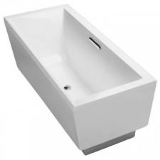 Kohler - Evok Rectangular Freestanding Bathtub 1675 x 762 x 610mm White