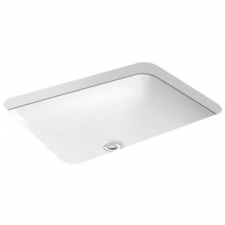 ForeFront Undercounter Basin 620 x 450mm White