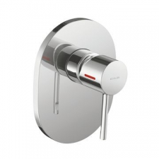 Kohler - Cuff Recessed Shower Mixer Trim Polished Chrome