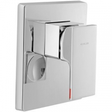 Kohler - Strayt Recessed Shower Only Trim Polished Chrome