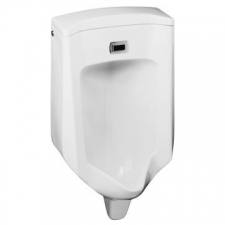 Bardon Touchless Urinal w/Integrated Sensor & Rear Inlet White
