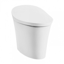 Veil Intelligent Toilet One-Piece Intelligent Toilet With Remote White