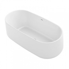 Ceric Lithocast Freestanding Bath 1651x791x581mm White