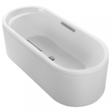 Lovee Freestanding Cast Iron Bathtub 1700 x 750mm White