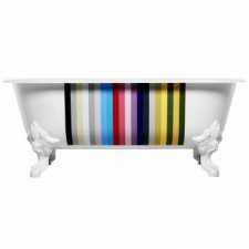 Cleo Freestanding Cast Iron Bathtub 1750 x 800 x 640mm Colour Pattern